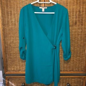 Forever 21 Teal Romper Size Medium